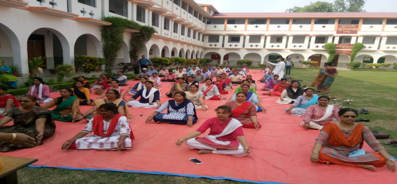 CELEBRATED WORLD YOGA DAY